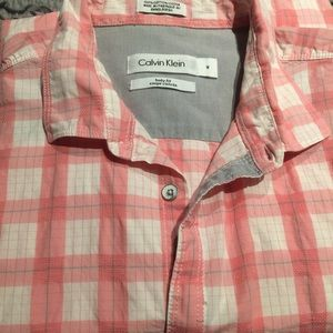CK casual button down shirt